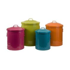 I pinned this 4 Piece Storage Can Set from the Spring Cleaning Essentials event at Joss & Main!