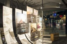 Tandem Luxury Travel windows by Mateo Fumero, Barcelona – Spain » Retail Design Blog