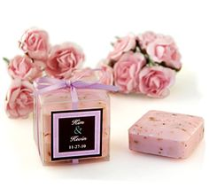 With creative shapes and distinctive scents, soap favors from HansonEllis will add a nice touch to anyone's bath and shower. The bath favors will leave a pleasant lasting impression. Most favors can be personalized for a special touch. Soap Wedding Favors, Soap Favors, Wedding Favor Boxes, Unique Wedding Favors, Savon Soap, Decorative Soaps, Rose Soap, Amazing Wedding Cakes, Soap Packaging