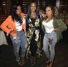 Toya, Rasheeda, Tiny... love the outfits