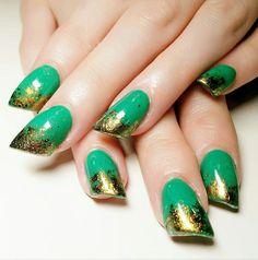 lipstick nail art