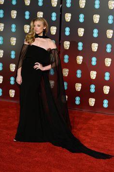 Natalie Dormer in Alberta Ferretti - The Most Stunning Looks from the 2018 BAFTA Awards - Photos
