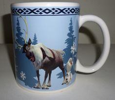 Frozen Olaf Snowman & Sven The Reindeer Always Up For Adventure Coffee Mug