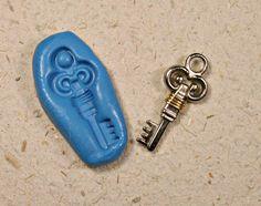 clef, moule bijoux, cupcake, bonbon, fondant 339