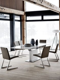 The highly popular Occa 'Butterfly' table designed by Morten Georgsen for BoConcept.