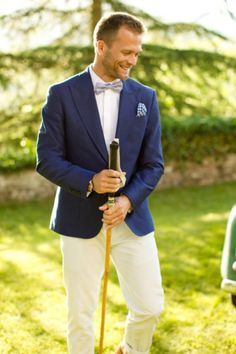 Hot 2014 Wedding Trend Navy Suits For Grooms