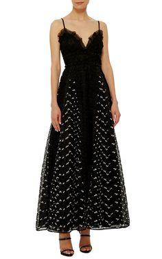 Sweetheart Lacey Dress by Giamba   Moda Operandi