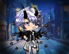 I love this edit sooooo much uWu Boy Character, Cute Anime Character, Cute Characters, Character Outfits, Character Design, Anime Wolf Girl, Anime Art Girl, Anime Guys, Cute Cartoon Drawings
