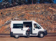 The Biggie Dodge Ram ProMaster Van Conversion by Native Campervans Ducato Camper, Diy Van Conversions, Campervan Rental, Campervan Interior, Van Conversion Interior, Conversion Van, Ram Promaster, Vanz, Grand Caravan
