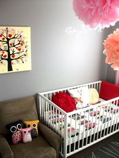 If I had a niece from my sister in law... this is what the nursery would look like... Instead of the tree, there would be a ship, though.