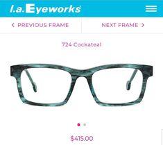7ef522e354 L.A. Eyeworks frames Pike in Cockateal