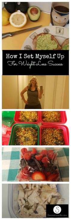 How I Set Myself Up for Weight Loss Success #weightlossbeforeandafter