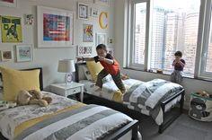 Erika Ward of Blu Label .. boys bedroom