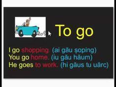 Engleză ABC pentru începători Curs gratuit Lectia 2 Going To Work, Go Shopping, English, Youtube, Books, Libros, Book, English Language, Book Illustrations
