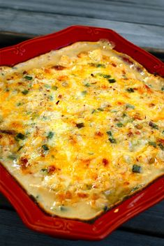 Loaded Cauliflower Bake. Is this recipe low in fat? No. Is this recipe low in calories?  No. Is this recipe delicious and better for you than potatoes?  You betcha!
