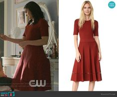 ALC Tracy Dress worn by Veronica Lodge (Camila Mendes) on Riverdale Veronica Lodge Fashion, Veronica Lodge Outfits, Veronica Lodge Style, Teen Fashion Outfits, Fashion Dresses, Camila Mendes Riverdale, Riverdale Veronica, Riverdale Fashion, Lawyer Outfit