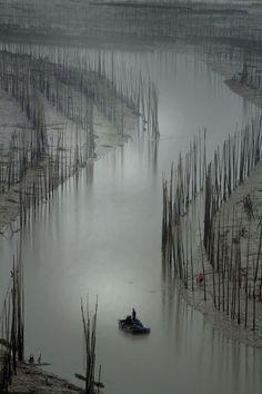 """The """"S"""" bend—Xiapu , Fujian Province , China (di ngchongkin ( away on vacation ))"""