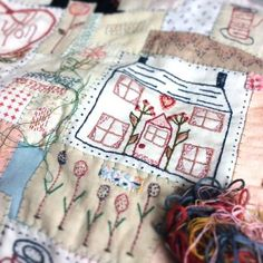 """This is an upcoming social andinteractive embroidery and patchwork project that I have been designing since 2015 with the idea of """"friendship through stitch"""" being the main focus This Kit will be launched here and also at my shop on August the 12th 2017 I will host a summer OPEN day on this day and you are all invites between 11-5 tea and home made cakes will be served through outDuring this day I will be showcasing in my shop window an exhibition o..."""