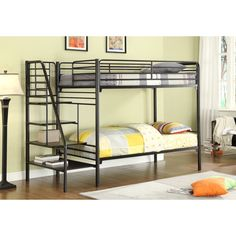 16 Best Bunk Beds Images On Pinterest Metal Bunk Beds Bunk Beds