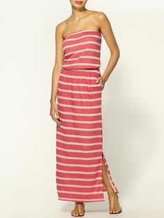 May I please have you Hive & Hoeny striped maxi dress ??? $49