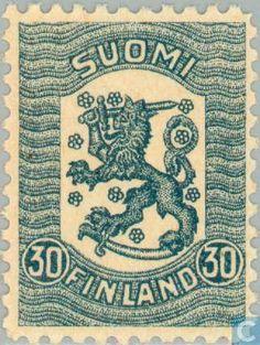 Finland - Blue 30. 1918