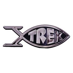 Star Trek Roddenberry Trek Fish Emblem | Space Artifacts - Space Memoribilia