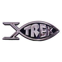 Star Trek Roddenberry Trek Fish Emblem | Space Artifacts - Space Memoribilia