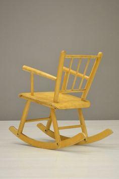 TO ROCK (Vintage Children rocking chair)