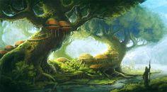 Tree dwelling by Sedeptra.deviantart.com on @deviantART