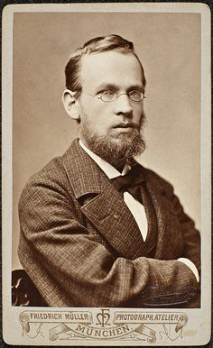 Portrett av Erik Werenskiold, 1880 by National Library of Norway, via Flickr