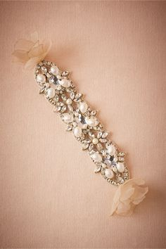 jewelry idea - Trier Bracelet in Bride Bridal Jewelry Bracelets at BHLDN
