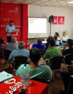 asamblea ordinaria en la que, entre otros puntos, se informó a la militancia de los perfiles de los diferentes candidatos a la Secretaria General del PSOE con premura y total imparcialidad.