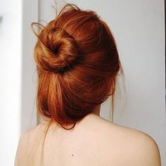 #redhead #bun #messy