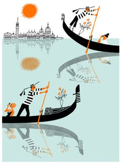 klas ~ Venice through an illustration