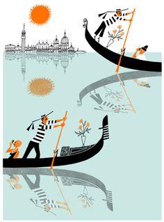 klas ~ Venice through an illustration