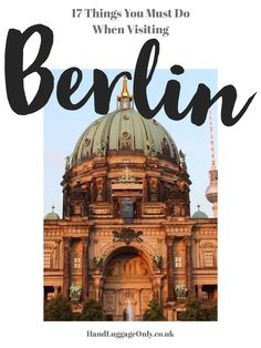 A first-time visit to Berlin is bound to be an absolutely incredible experience, filled with an eclectic mix of history, culture and gorgeous sights, it's a city that intrigues yet embracesus visitors with open arms. Whether