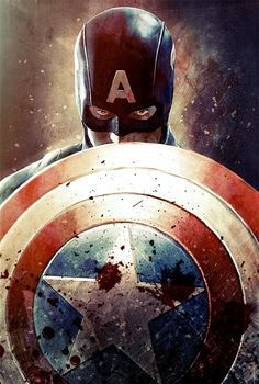 Steve Rogers and his shield, because in Cap's world defense is the best assault?