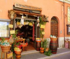 Another reason why we love Norcia so much - famed for salami, prosciutto, cheese, lentils... it is a foodie's paradise.