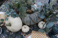 Pretty, Natural Thanksgiving Tablescape
