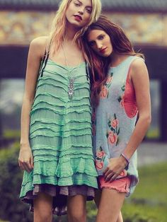 summer dresses, really like the one on the left!!!