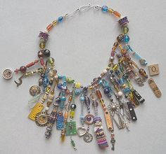 Ro Bruhn - Found objects necklace