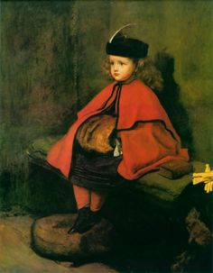 John Everett Millais' 1862-1863 painting My First Sermon.