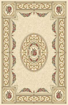 Enhance the traditional garden motif of your living space with the Dynamic Rugs Ancient Garden 57226 Indoor Area Rug . This lush area rug features a. Persian Pattern, Oriental Pattern, Rectangular Rugs, Rectangle Area, Pop Up Karten, Aubusson Rugs, Dynamic Rugs, Border Rugs, Diy Carpet