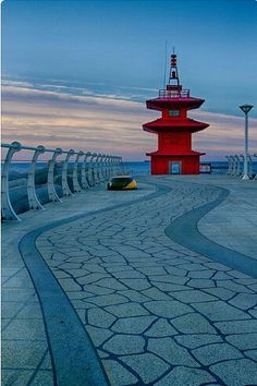 Lighthouse in South Korea