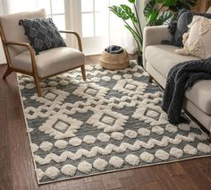 Affordable Area Rugs, Textured Yarn, 3d Texture, Visual Texture, Rug Company, 8x10 Area Rugs, White Area Rug, Woven Rug, Decor Styles