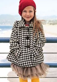 Even if it's houndstooth... it's adorable