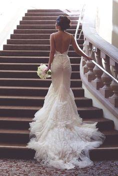 Wedding dress inspiration | For more visit www.weddingsite.co.uk