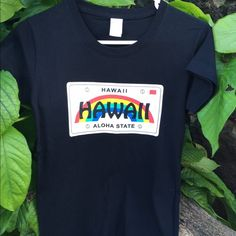 808 State T-Shirt Hawaii License Plate T-shirt. Comfortable and fashionable. Size is M but fits Small. Tia Lei Tops Tees - Short Sleeve