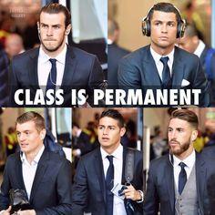 Bale, Ronaldo, Kroos, James, Ramos.