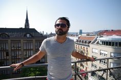 He's an artist, father and founder / owner of UPPERCLASS JEANS ZURICH. Very creative and warm person. A family affair.